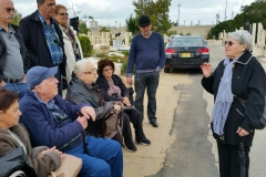 Liepaja Jewish Survivors in Holon on Commemoration Day