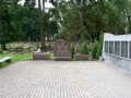 Memorial Wall at the Jewish cemetery in Liepaja