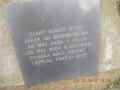 Ghetto memorial stone