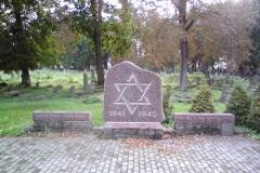 Piemiņas akmens II. Pasaules kara bojā gājušiem Liepājas ebrejiem