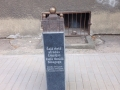 13 July 2015 Liepaja Great Synagogue memorial sign improvements