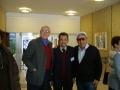 Israel. Reunion 2007 George Schwab, Eli Balk, Joseph Hofmanis