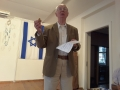 Commemoration ceremony held by Eduard Kaplan