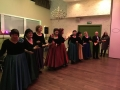 Integration of Jewish cluture. Russian vocal group Volnica performin jewish songs