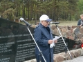 June 3, 2005.Dedication of the Memorial to the Jews of Liepaja- Holocaust victims in Shkede. 1941-1945. Solomon Feigerson