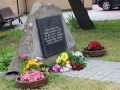 Memorial stone in Liepaja Ghetto